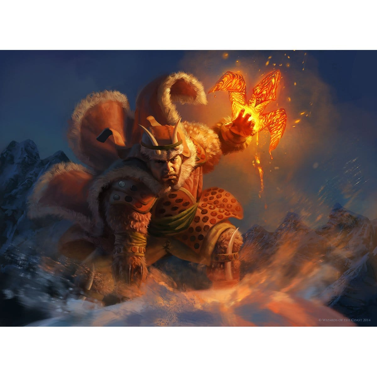 Dragon Grip Print - Print - Original Magic Art - Accessories for Magic the Gathering and other card games