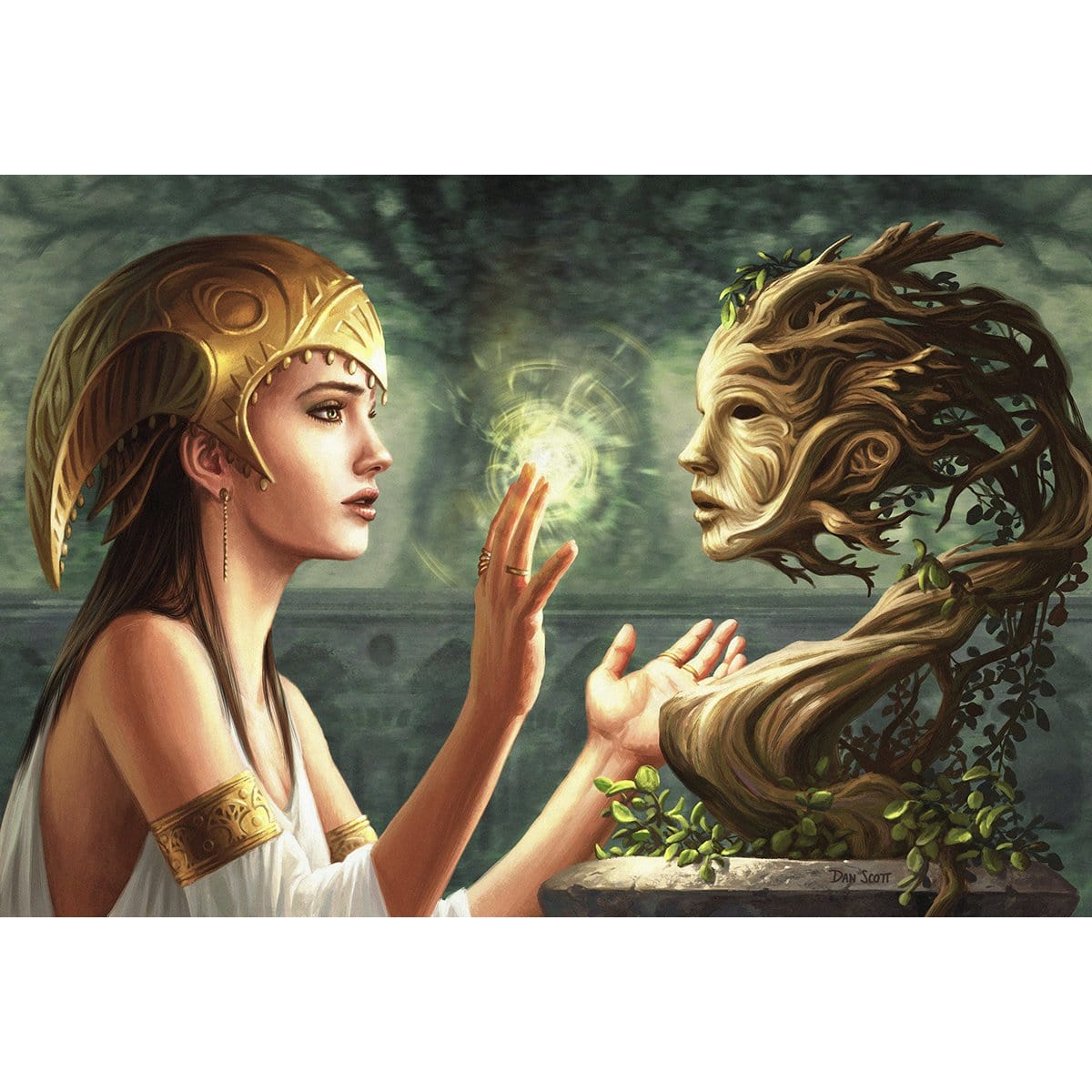 Druid's Deliverance Print - Print - Original Magic Art - Accessories for Magic the Gathering and other card games