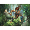 Drumhunter Print - Print - Original Magic Art - Accessories for Magic the Gathering and other card games