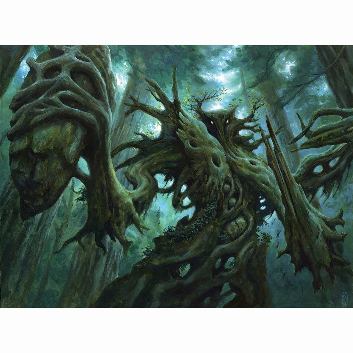 Dungrove Elder Print - Print - Original Magic Art - Accessories for Magic the Gathering and other card games