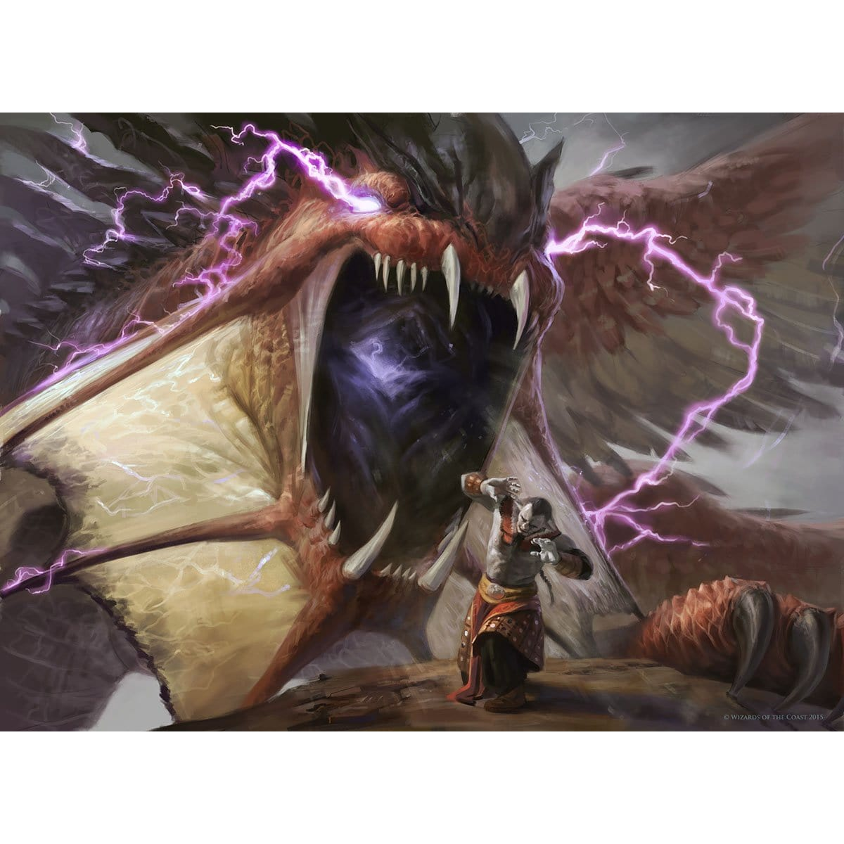 Duress Print - Print - Original Magic Art - Accessories for Magic the Gathering and other card games