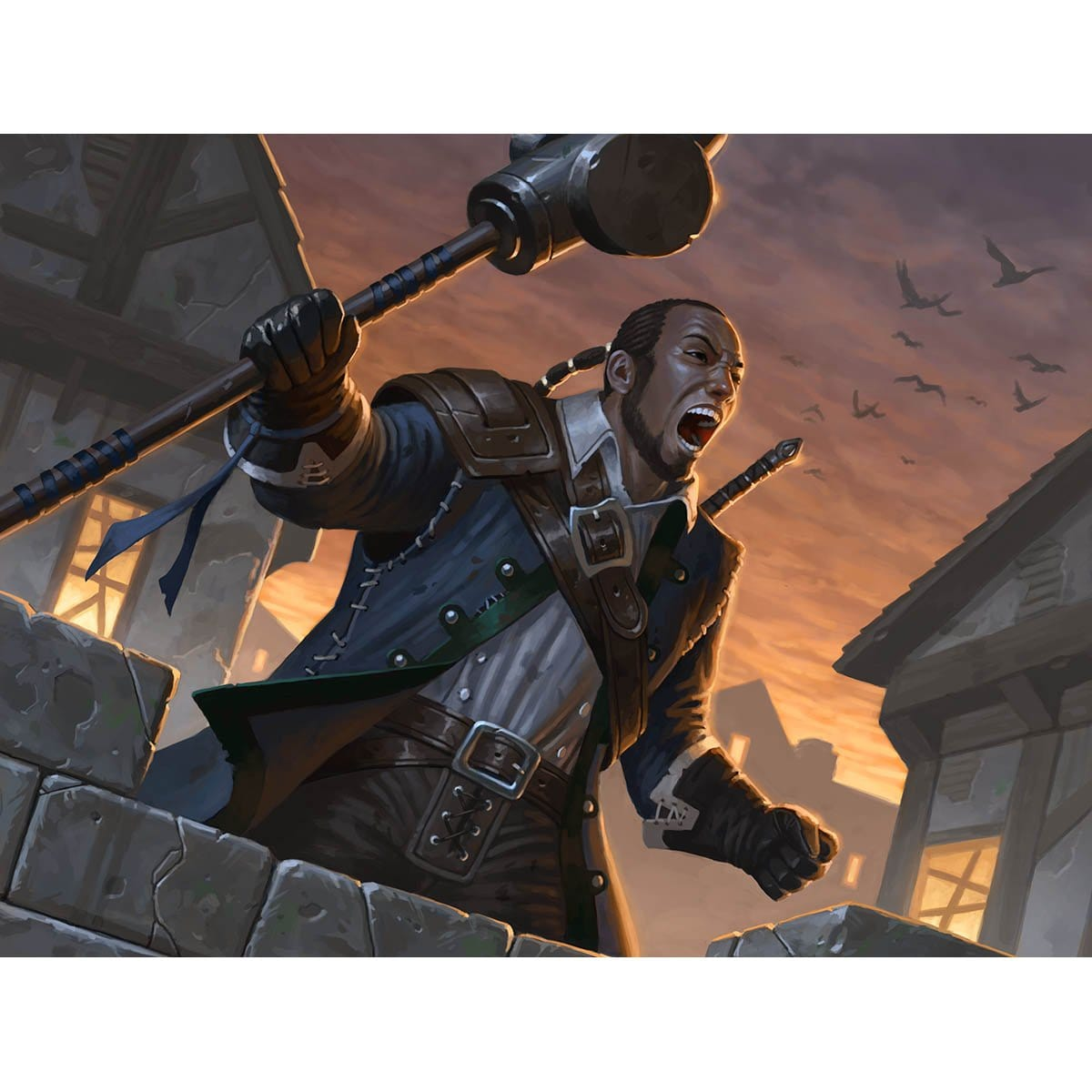 Duskwatch Recruiter Print - Print - Original Magic Art - Accessories for Magic the Gathering and other card games