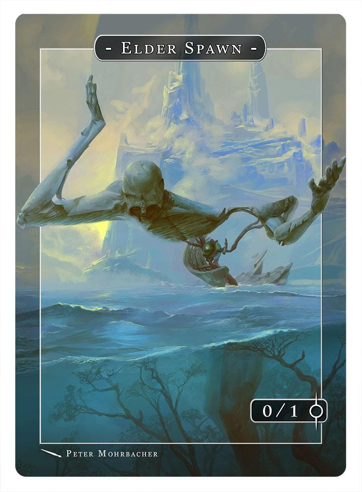 Elder Spawn Token (0/1) by Peter Mohrbacher