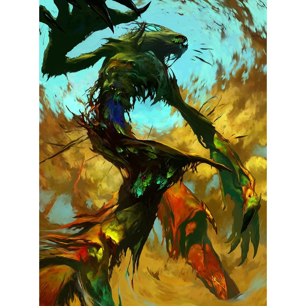 Elemental Token Print - Print - Original Magic Art - Accessories for Magic the Gathering and other card games