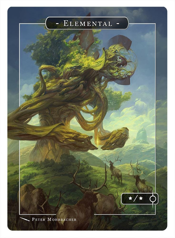 Elemental Token (*/*) by Peter Mohrbacher
