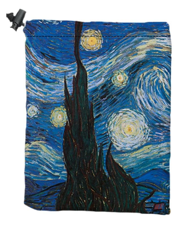 Emblem Dice Bag by Vincent van Gogh - Dice Bag - Original Magic Art - Accessories for Magic the Gathering and other card games