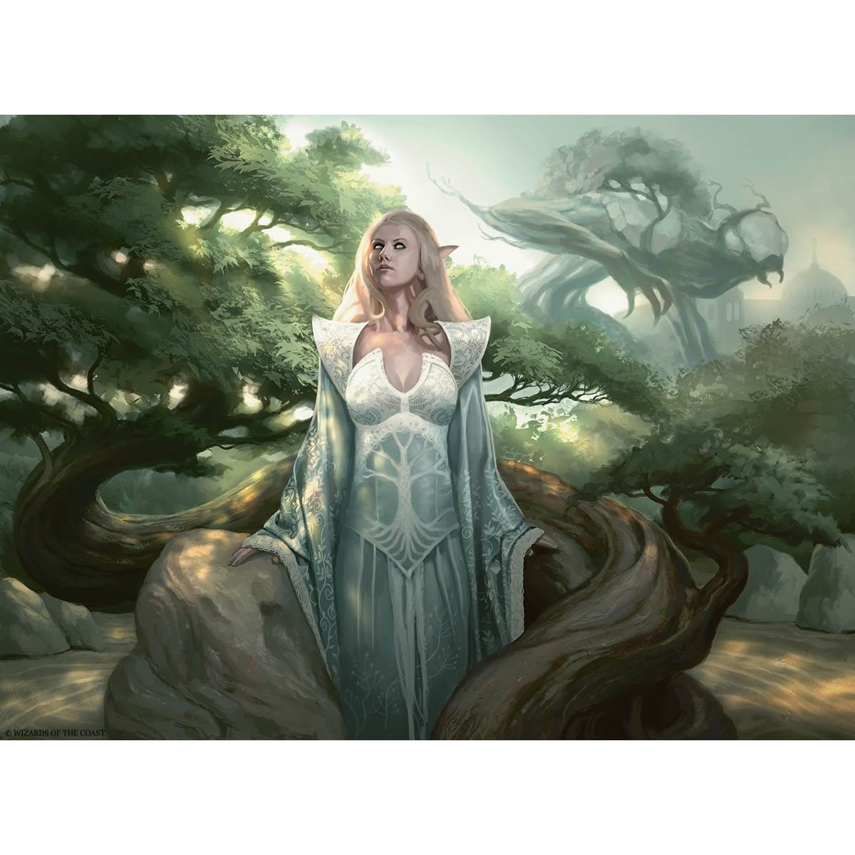 Emmara Tandris Print - Print - Original Magic Art - Accessories for Magic the Gathering and other card games