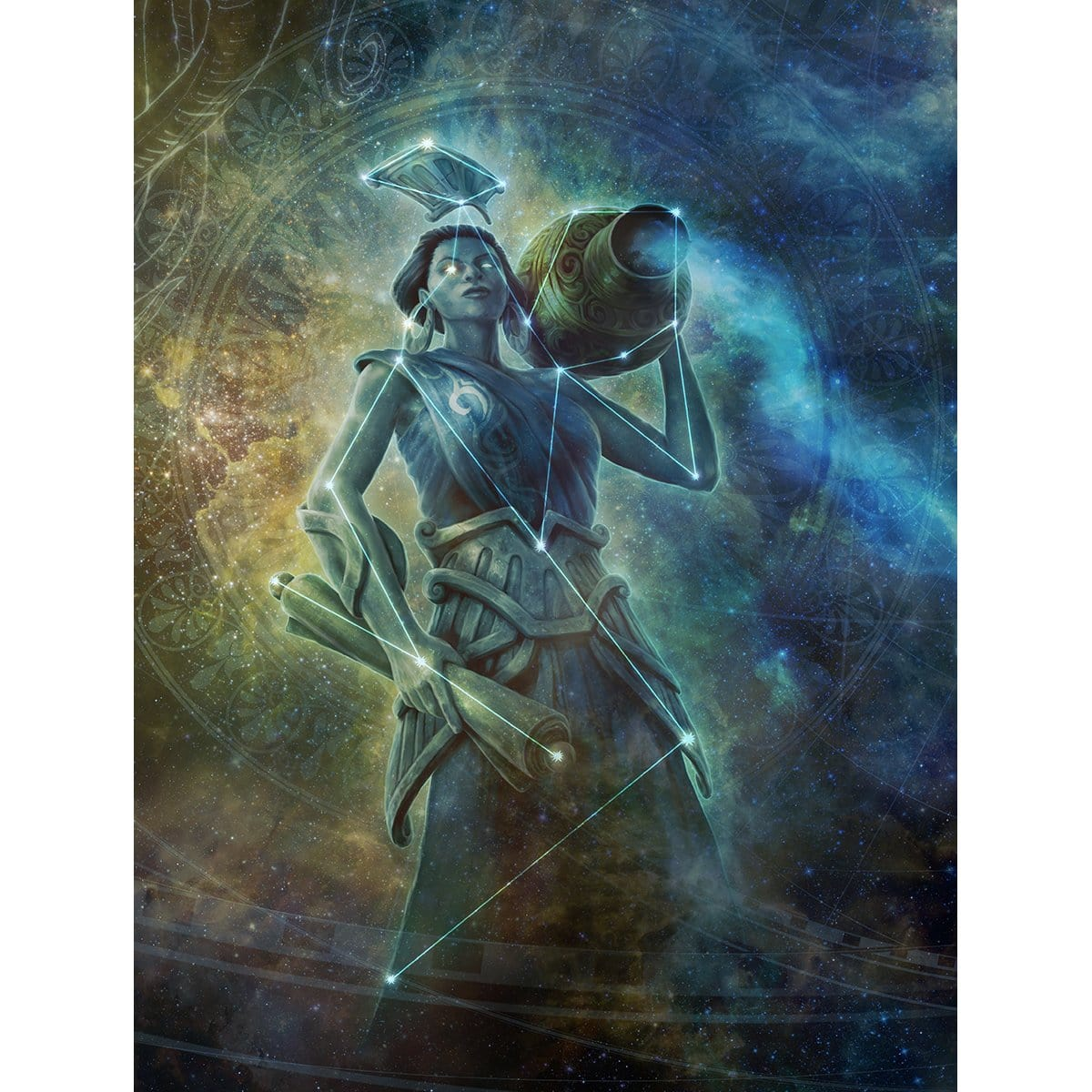 Ephara, God of the Polis Print