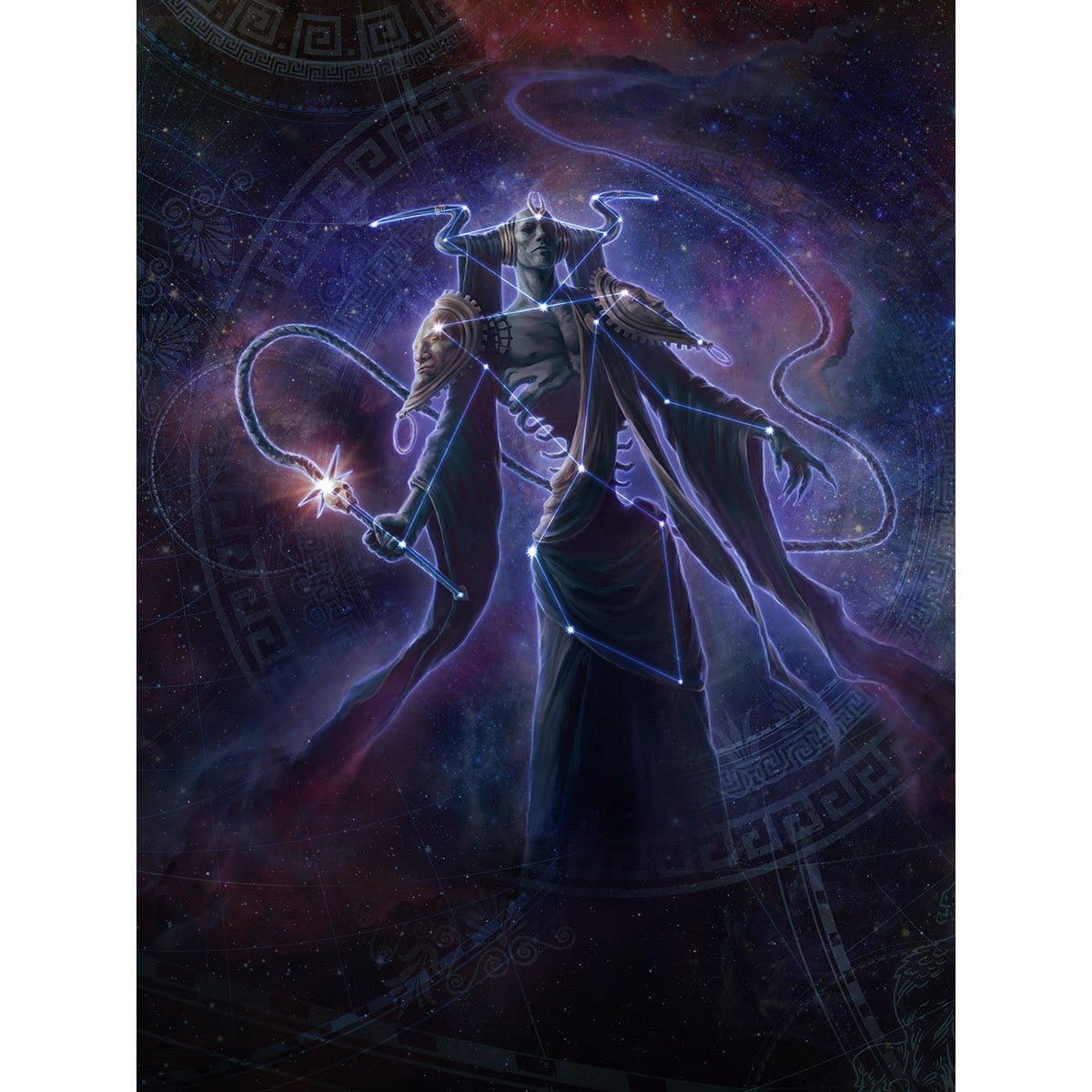 Erebos, Bleak-Hearted Print - Print - Original Magic Art - Accessories for Magic the Gathering and other card games