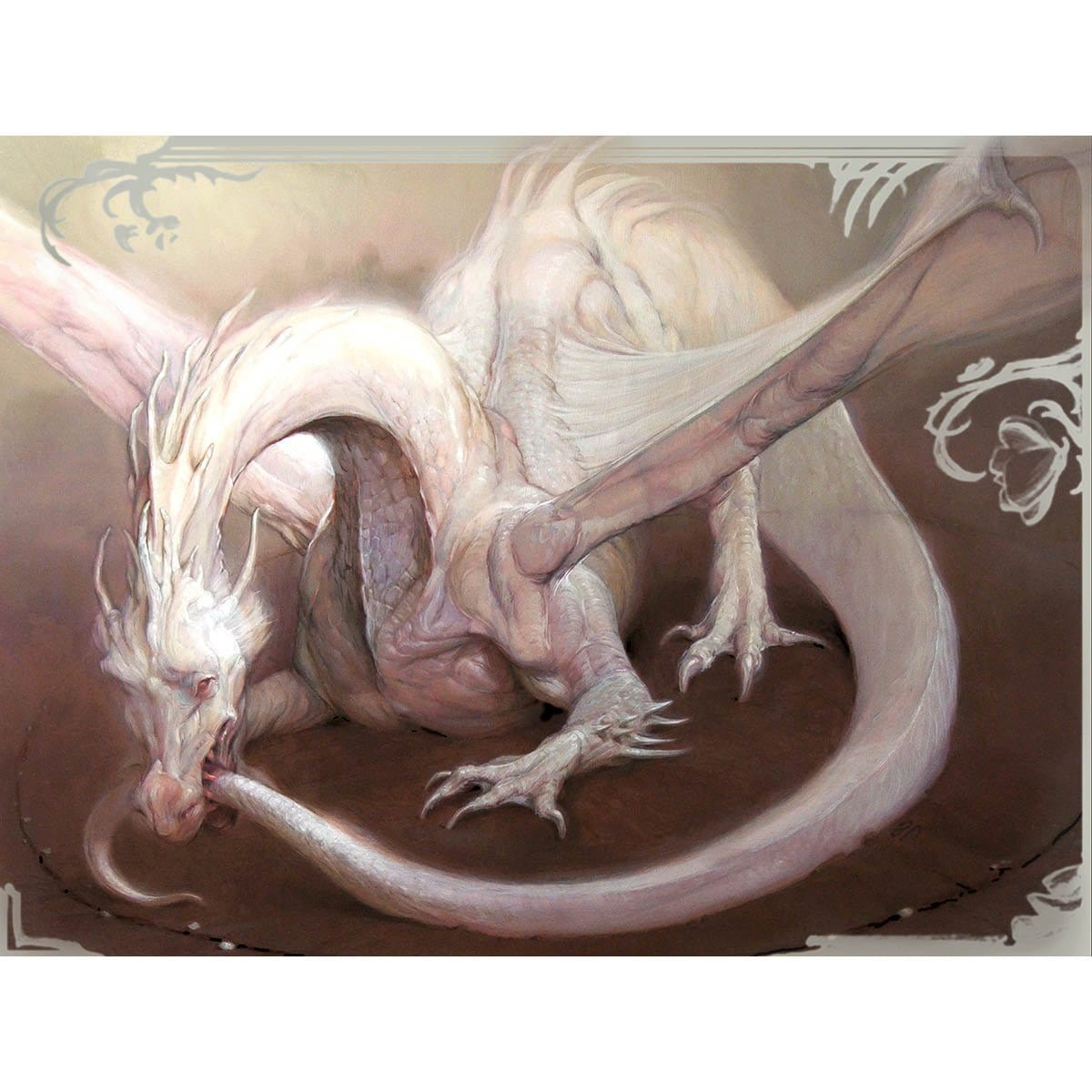 Eternal Dragon Print