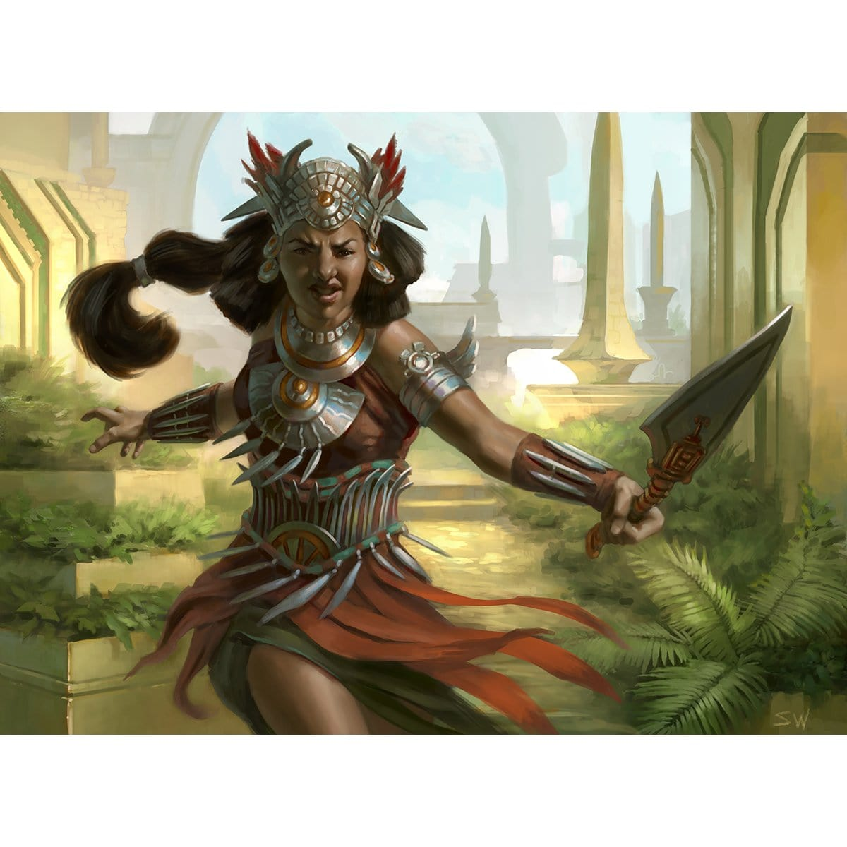 Everdawn Champion Print