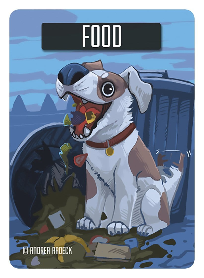 Food Token by Andrea Radeck