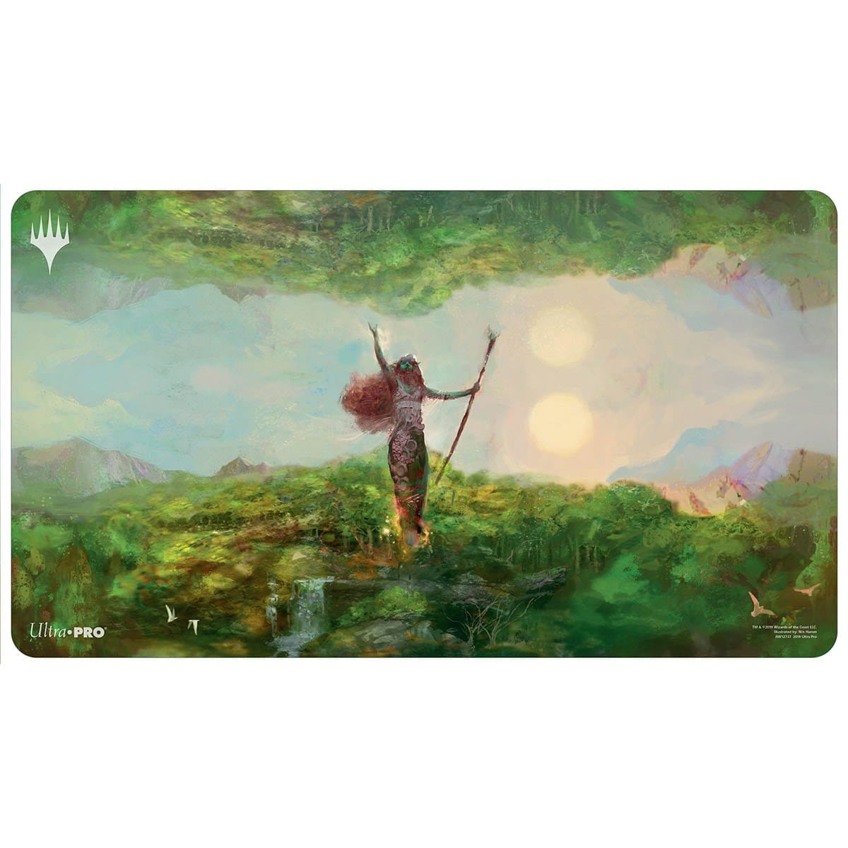 Fastbond Playmat - Playmat - Original Magic Art - Accessories for Magic the Gathering and other card games
