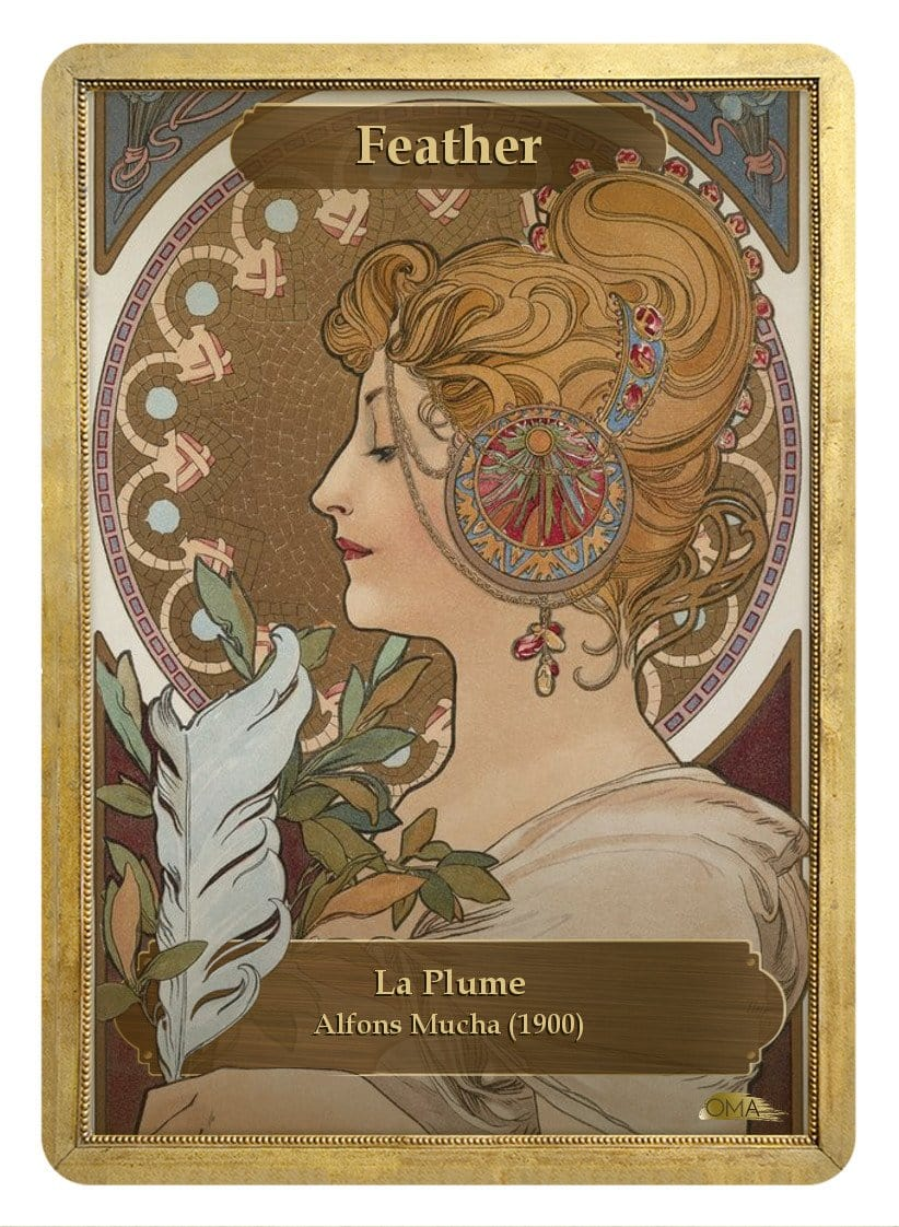 Feather Token by Alfons Mucha