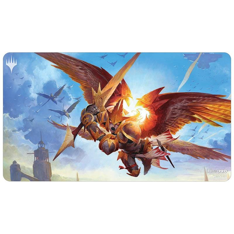 Feather, the Redeemed Playmat - Playmat - Original Magic Art - Accessories for Magic the Gathering and other card games