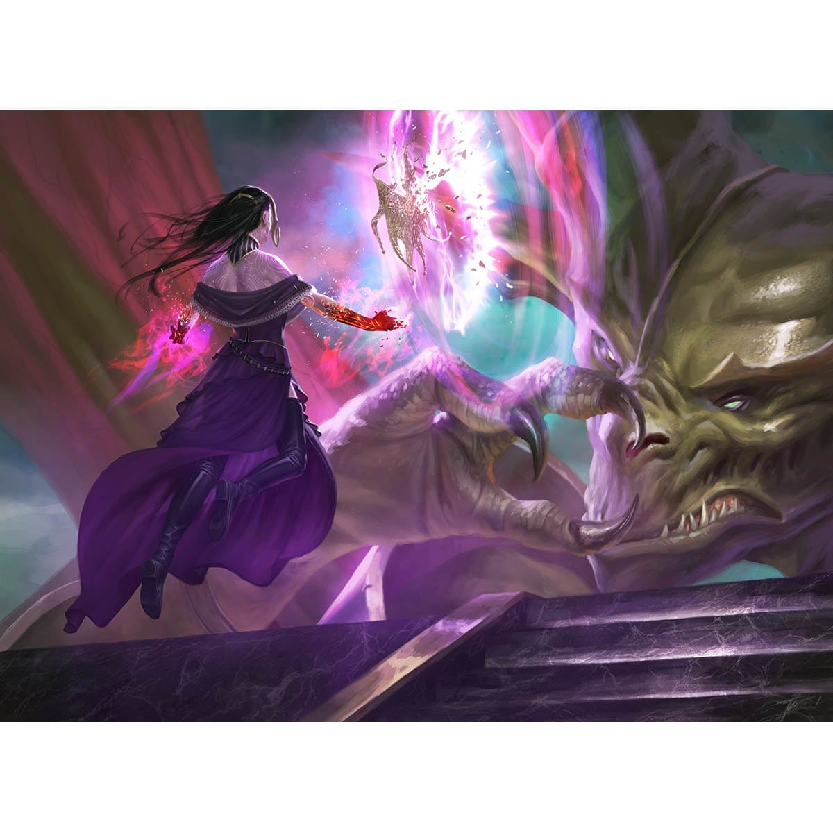 Finale of Eternity Print - Print - Original Magic Art - Accessories for Magic the Gathering and other card games