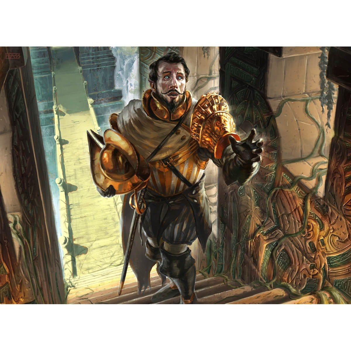 Forerunner of the Legion Print - Print - Original Magic Art - Accessories for Magic the Gathering and other card games