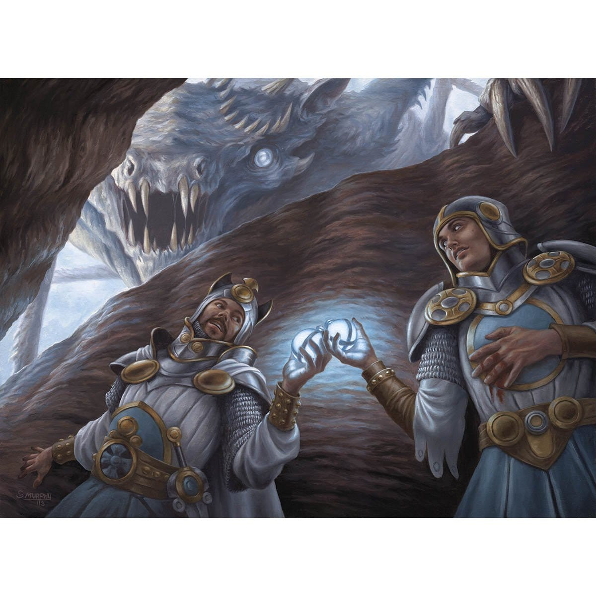 Fortifying Provisions Print - Print - Original Magic Art - Accessories for Magic the Gathering and other card games