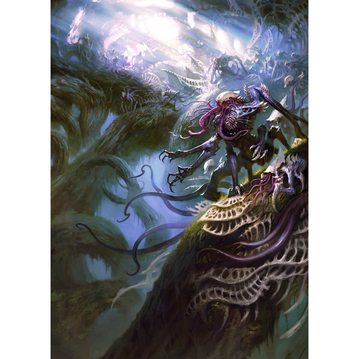 From Beyond Print - Print - Original Magic Art - Accessories for Magic the Gathering and other card games