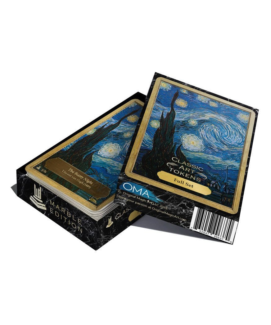 Full Set - Marble Edition - Token Set - Original Magic Art - Accessories for Magic the Gathering and other card games