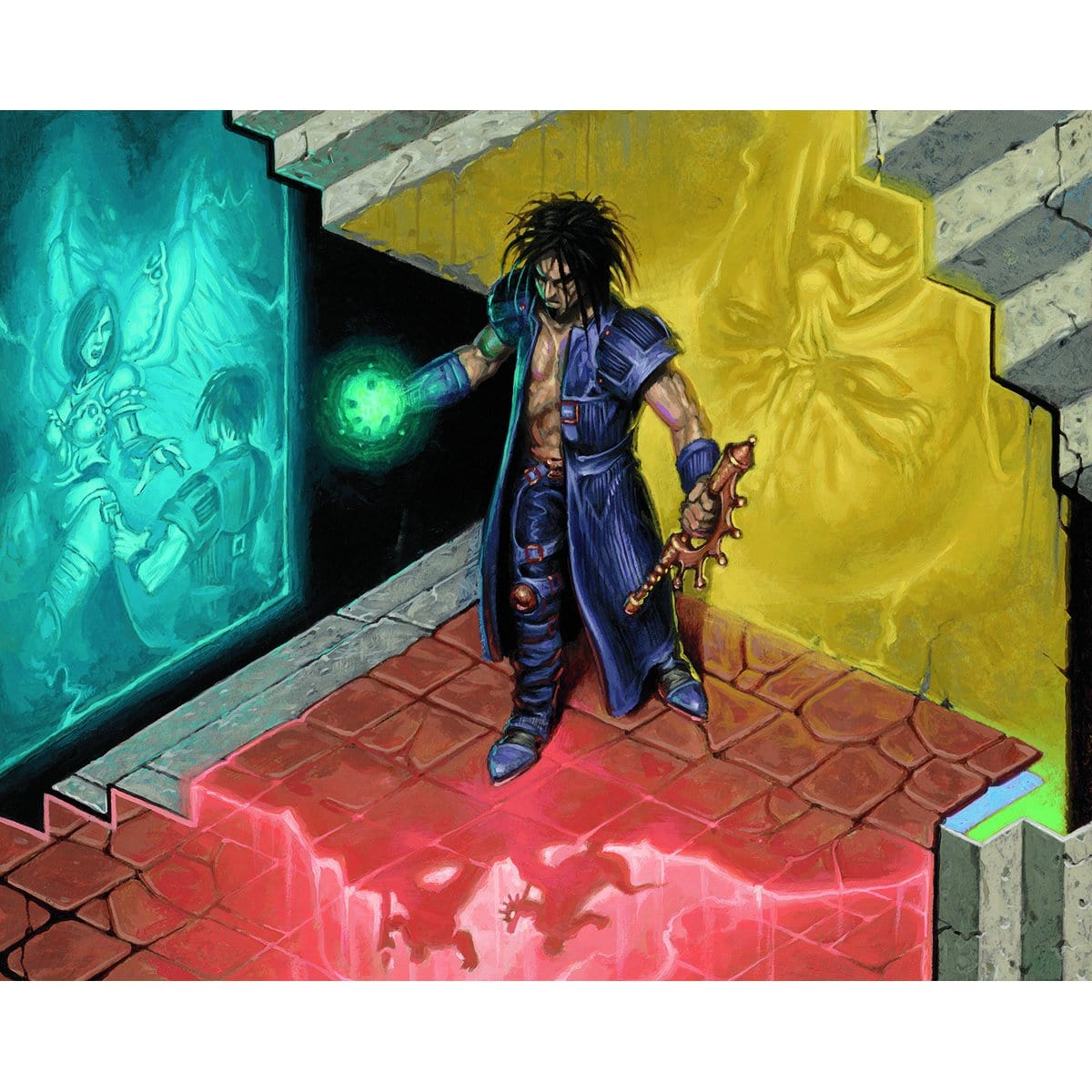 Future Sight Print - Print - Original Magic Art - Accessories for Magic the Gathering and other card games