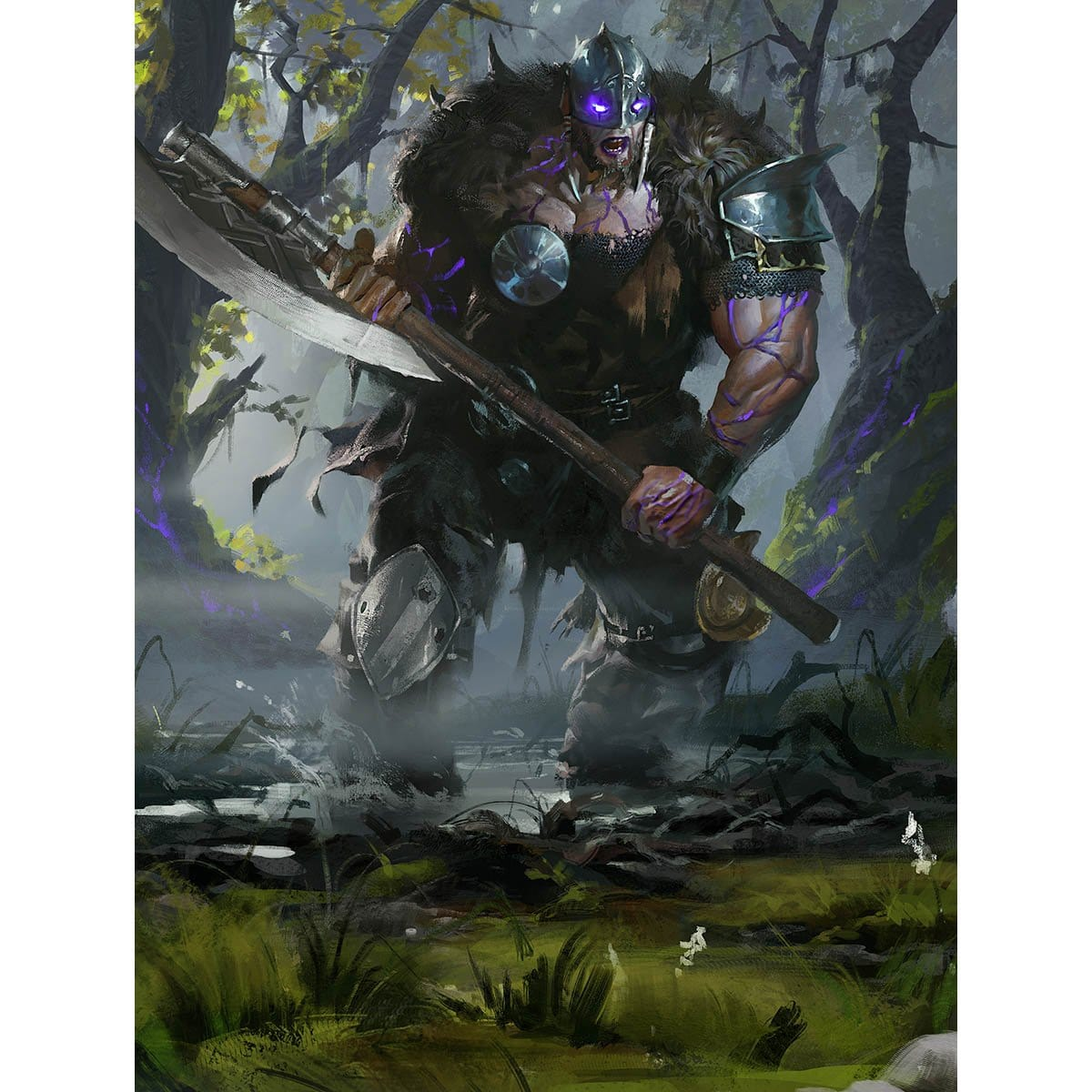 Garruk, the Veil-Cursed Print