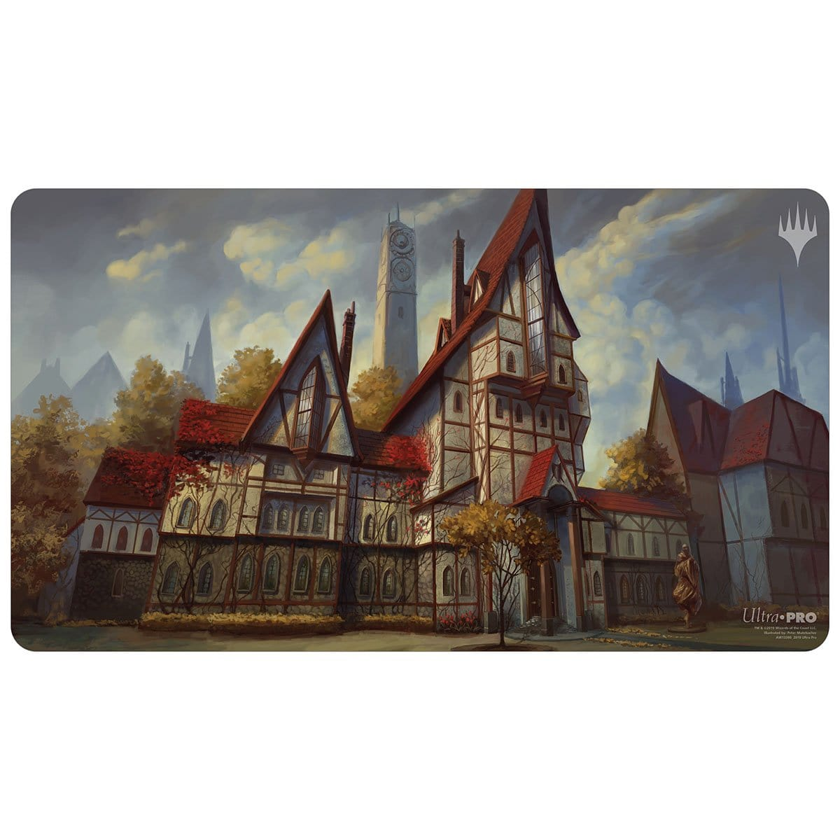 Gavony Township Playmat - Playmat - Original Magic Art - Accessories for Magic the Gathering and other card games