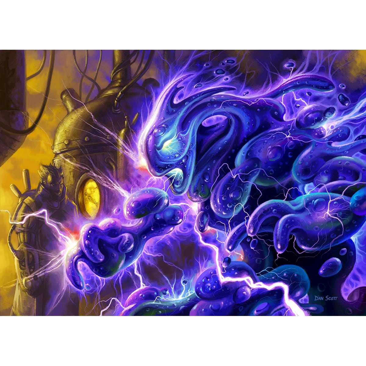 Gelectrode Print - Print - Original Magic Art - Accessories for Magic the Gathering and other card games