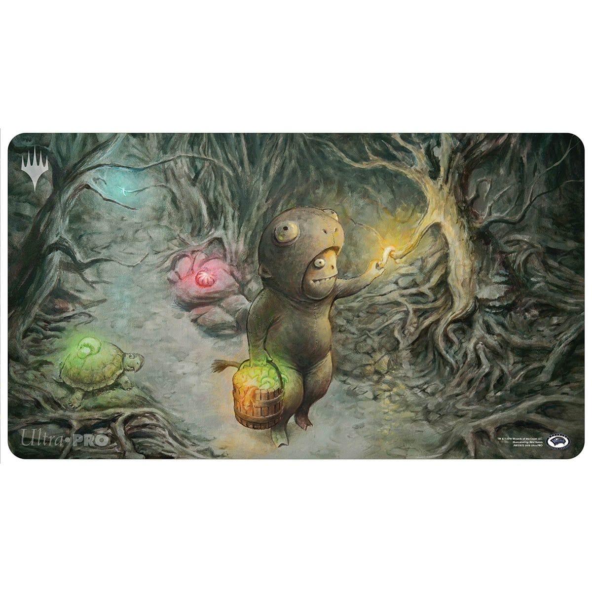 Gilder Bairn Playmat - Playmat - Original Magic Art - Accessories for Magic the Gathering and other card games