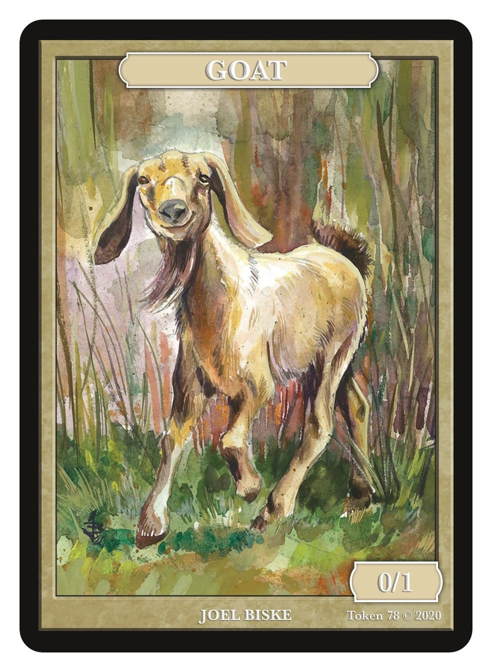 Goat Token (0/1) by Joel Biske