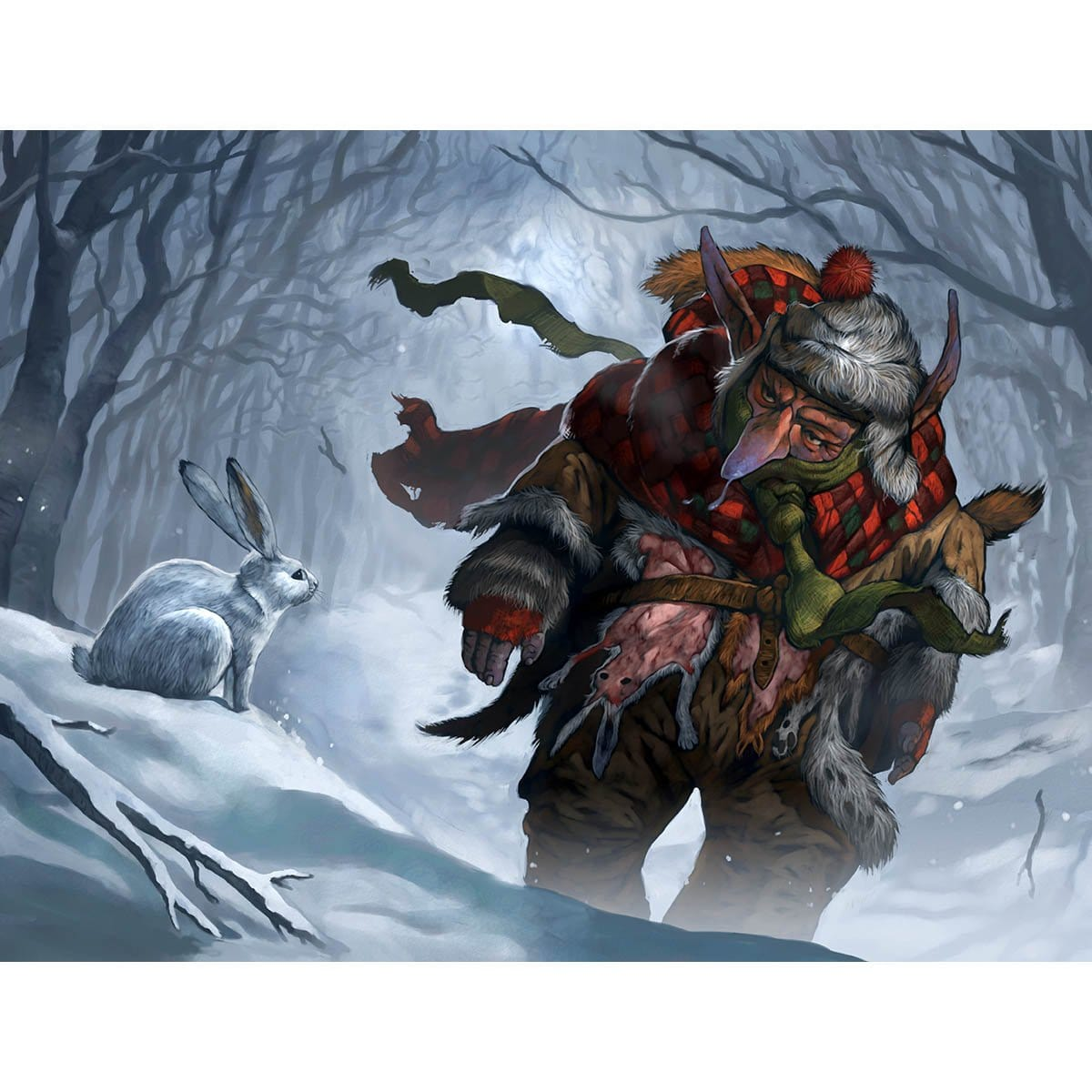 Goblin Furrier Print - Print - Original Magic Art - Accessories for Magic the Gathering and other card games