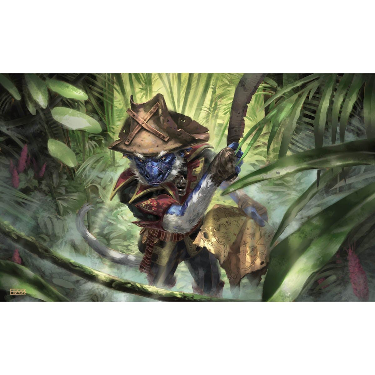 Goblin Trailblazer Print - Print - Original Magic Art - Accessories for Magic the Gathering and other card games