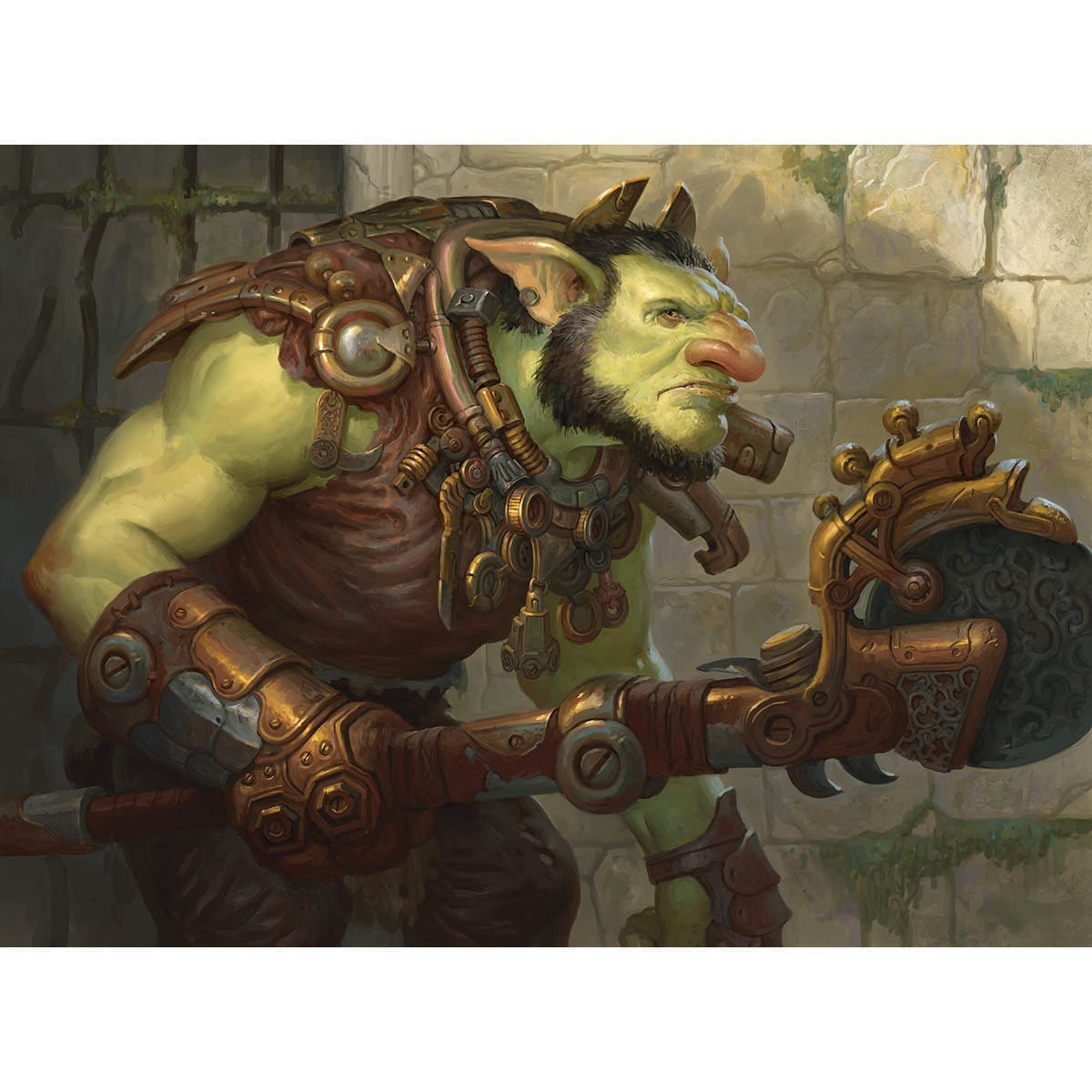 Goblin Trashmaster Print - Print - Original Magic Art - Accessories for Magic the Gathering and other card games