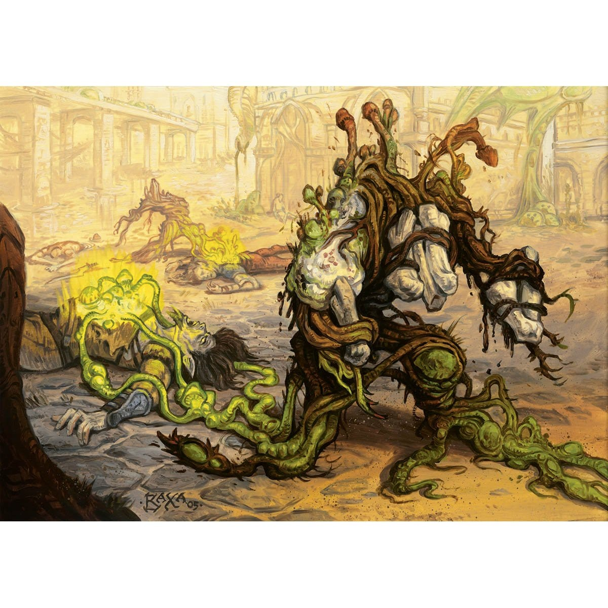 Golgari Germination Print - Print - Original Magic Art - Accessories for Magic the Gathering and other card games