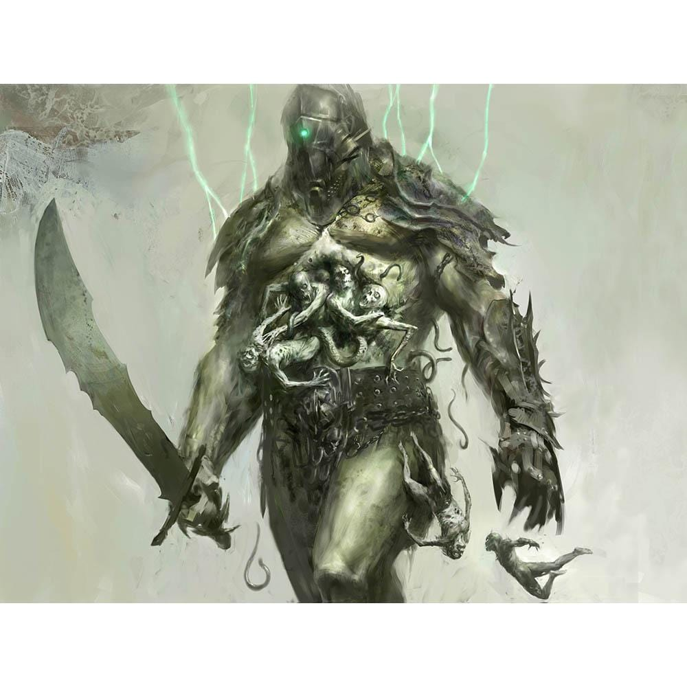 Grave Titan Print - Print - Original Magic Art - Accessories for Magic the Gathering and other card games
