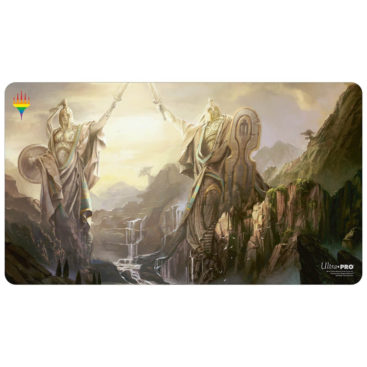Guardians of Meletis Playmat - Pride 2019 - Playmat - Original Magic Art - Accessories for Magic the Gathering and other card games