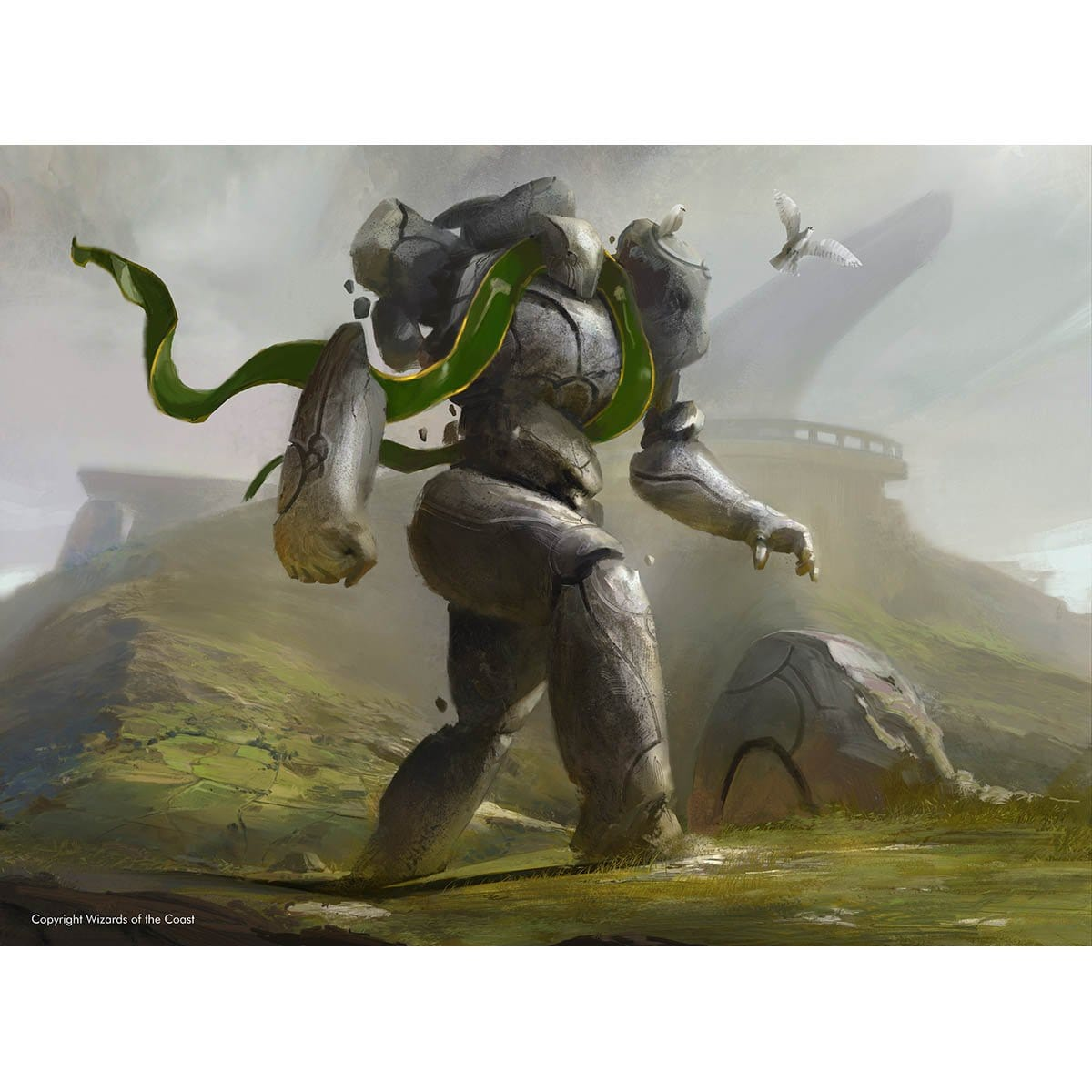 Henge Walker Print - Print - Original Magic Art - Accessories for Magic the Gathering and other card games
