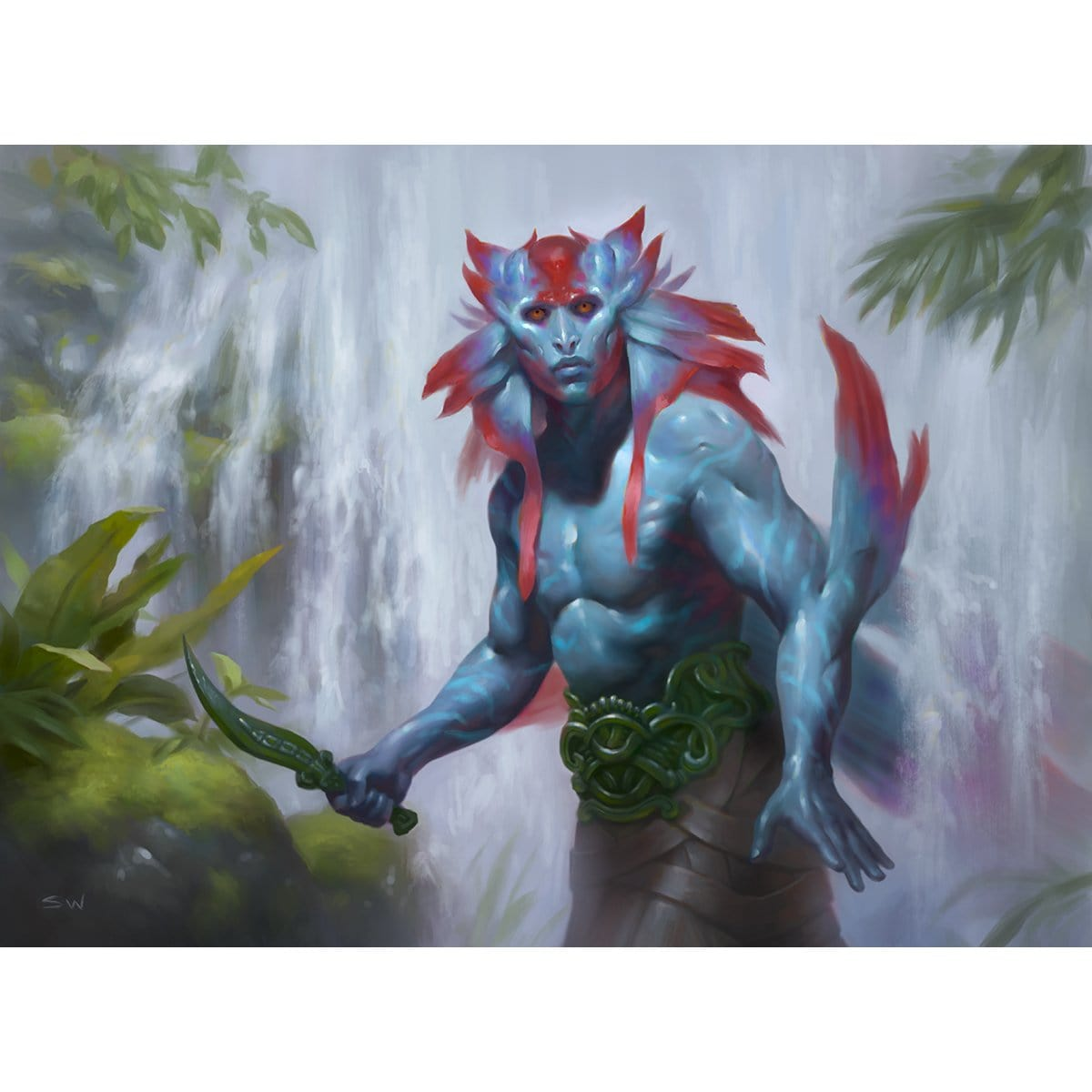 Herald of Secret Streams Print