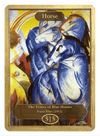 Horse Token (5/5) by Franz Marc - Token - Original Magic Art - Accessories for Magic the Gathering and other card games