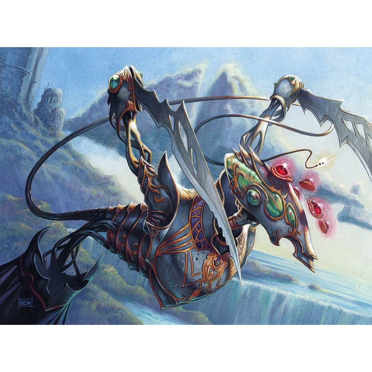 Arsenal Thresher Print - Print - Original Magic Art - Accessories for Magic the Gathering and other card games