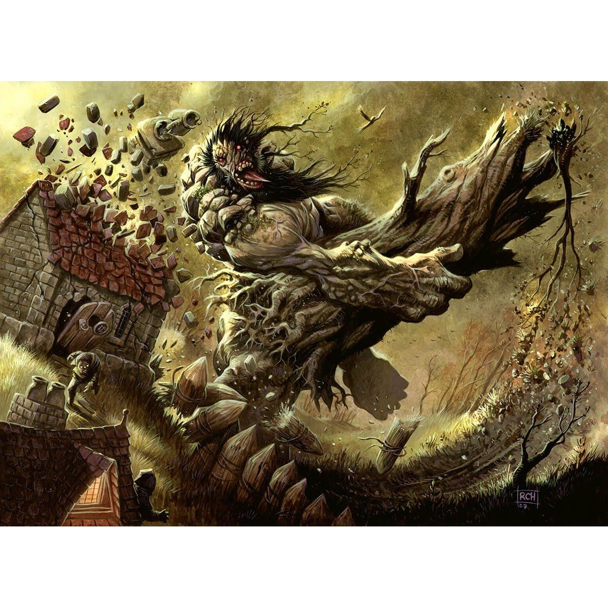 Furystroke Giant Print - Print - Original Magic Art - Accessories for Magic the Gathering and other card games