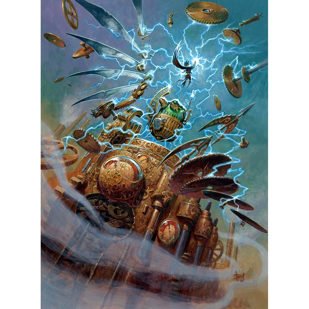 The Pieces Are Coming Together Print - Print - Original Magic Art - Accessories for Magic the Gathering and other card games