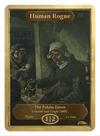 Human Rogue Token (1/2 - Haste) by Vincent van Gogh - Token - Original Magic Art - Accessories for Magic the Gathering and other card games