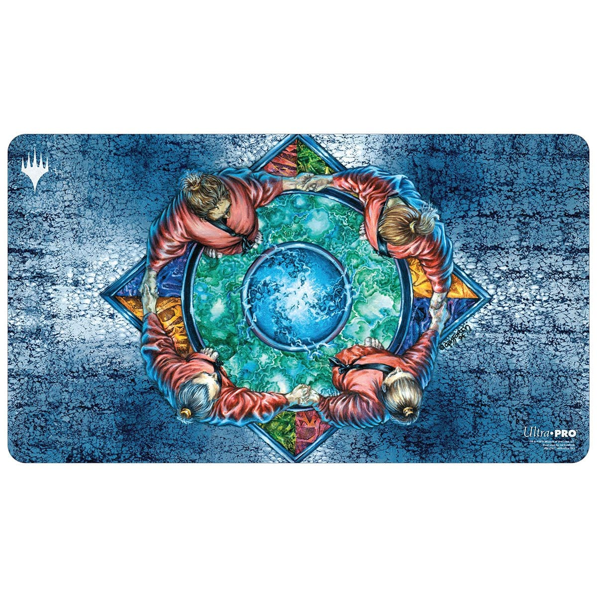 Hymn to Tourach Playmat - Playmat - Original Magic Art - Accessories for Magic the Gathering and other card games