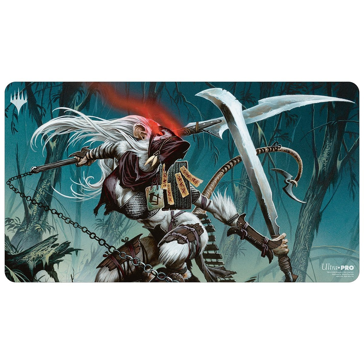 Ink-Eyes, Servant of Oni Playmat
