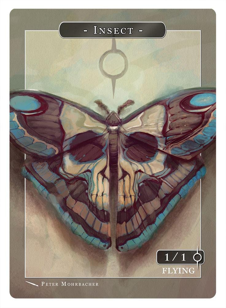 Insect Token (1/1 - Flying) by Peter Mohrbacher
