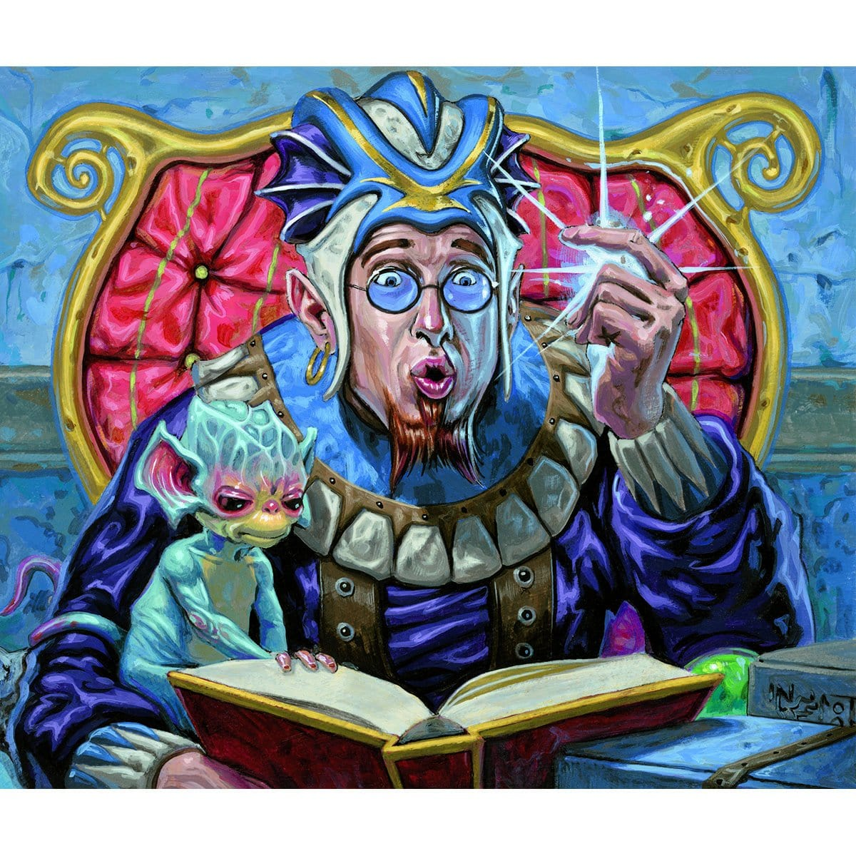 Inspiration Print - Print - Original Magic Art - Accessories for Magic the Gathering and other card games