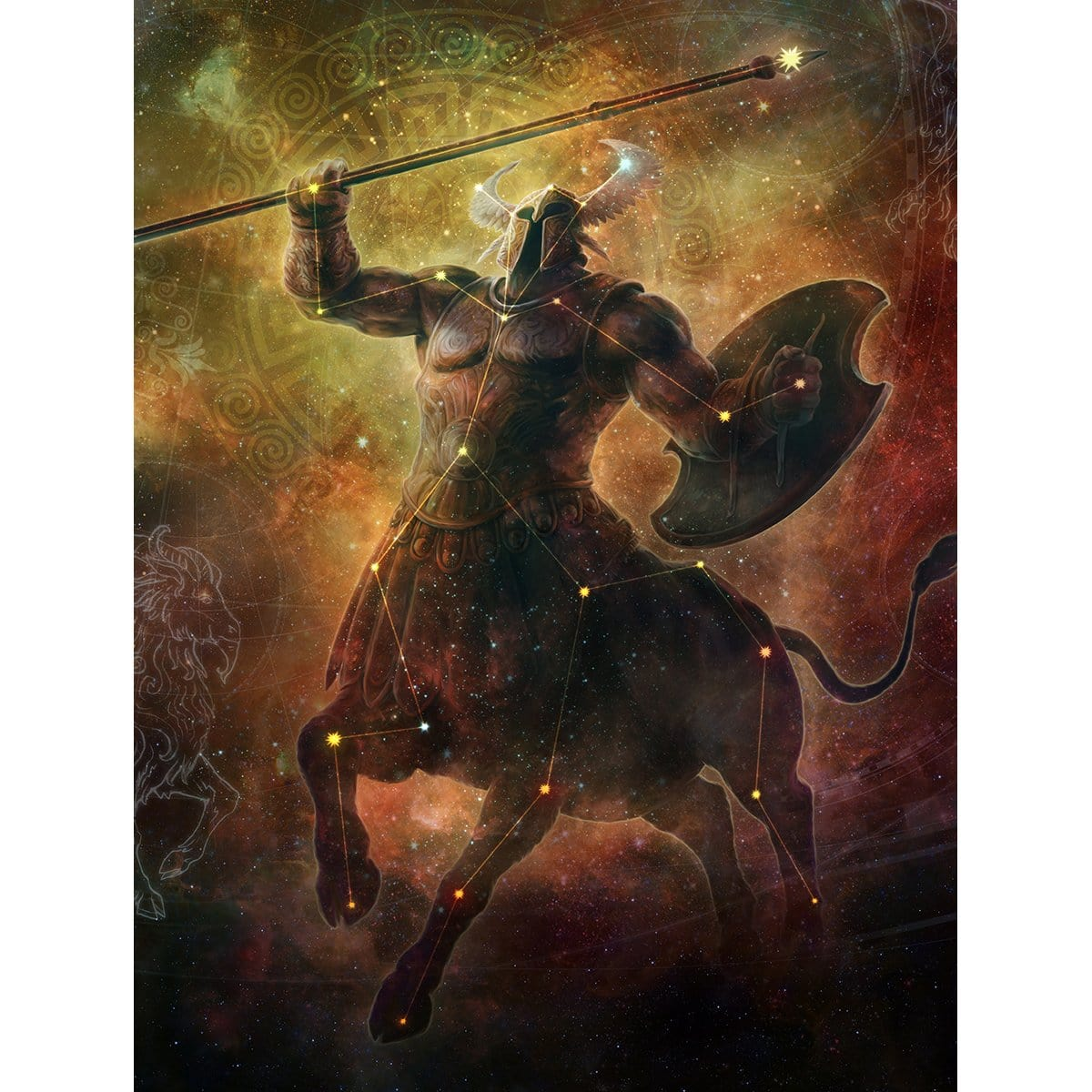 Iroas, God of Victory Print
