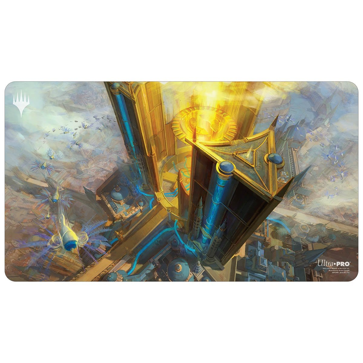 Island (War of the Spark) Playmat - Playmat - Original Magic Art - Accessories for Magic the Gathering and other card games