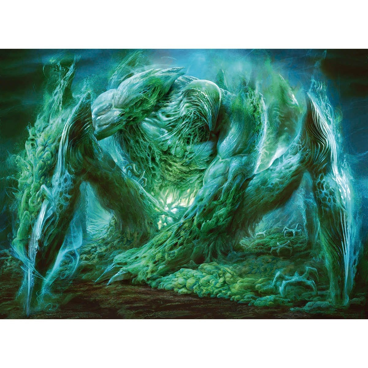 Ixidron Print - Print - Original Magic Art - Accessories for Magic the Gathering and other card games